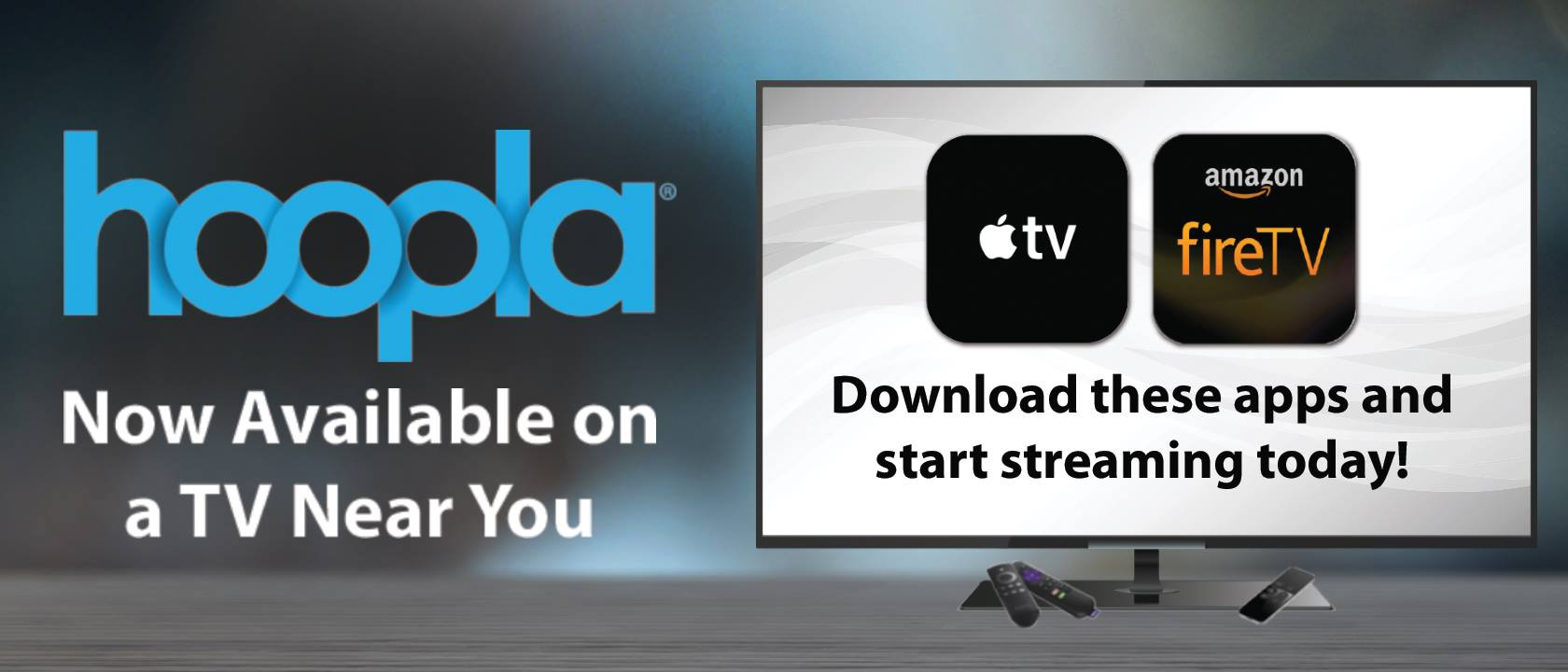 hoopla digital, streaming, apple tv, amazon fire tv