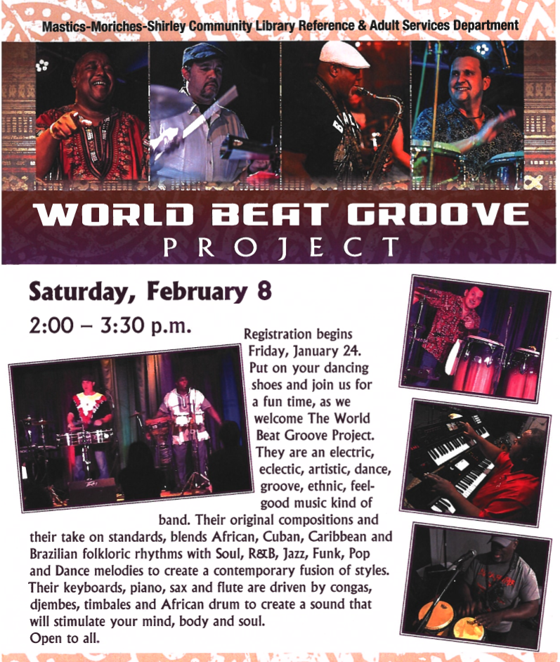 World Beat Groove Project Concert